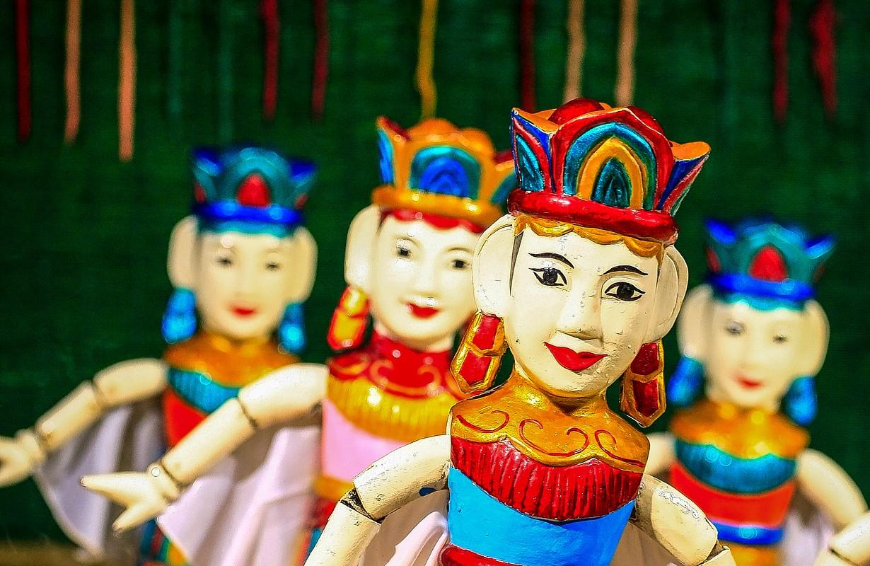 Water puppet in Vietnam