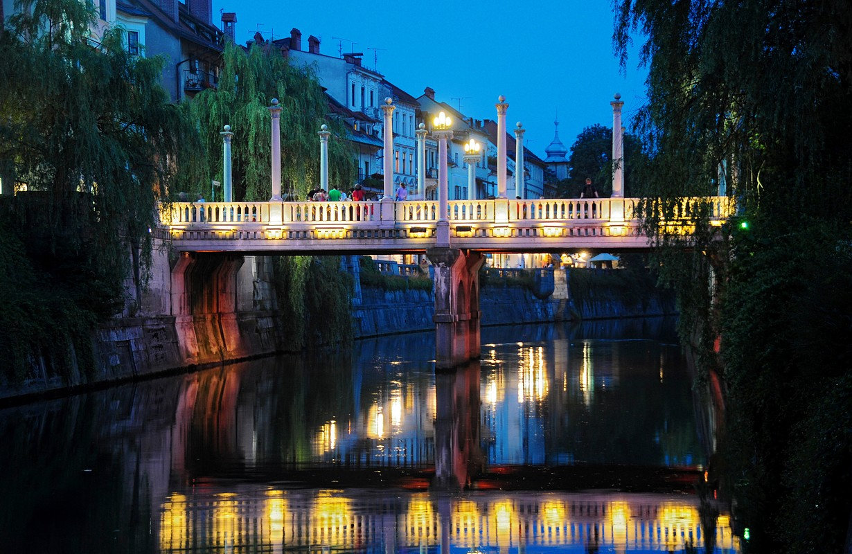 The Ljubljanica and the Bridges