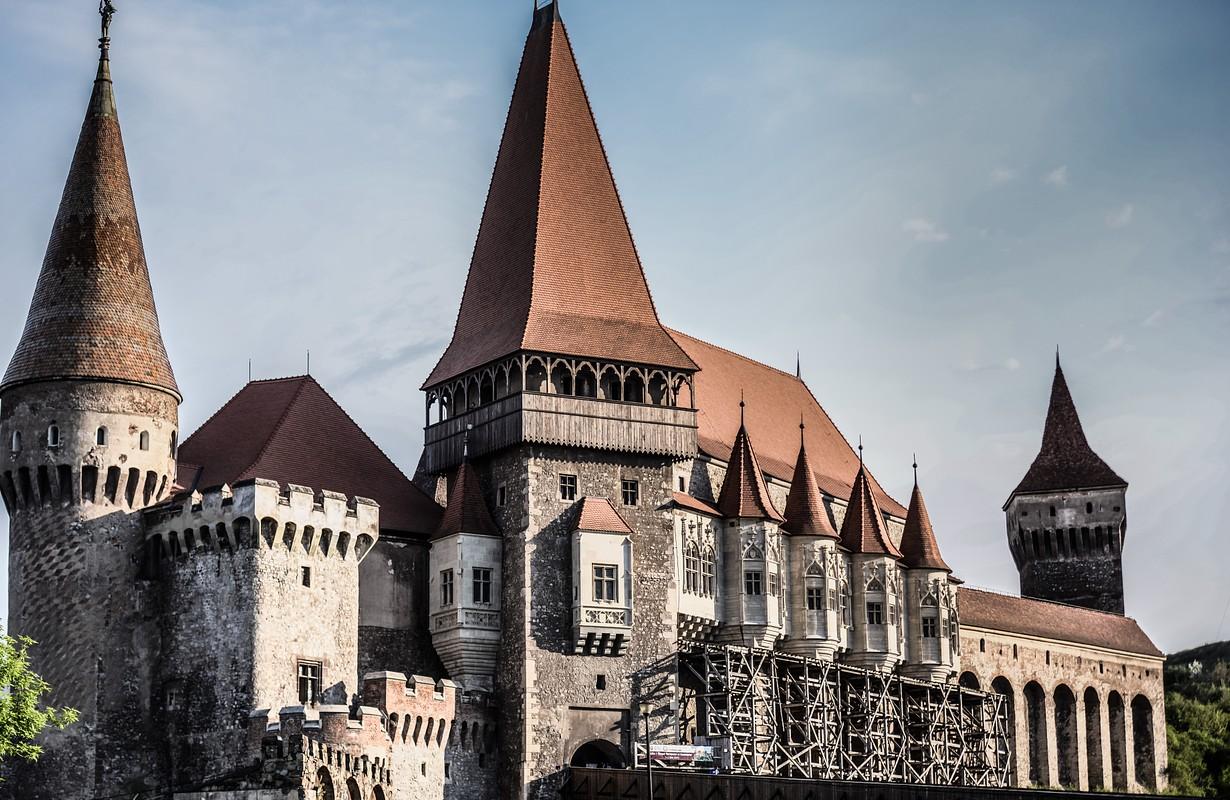 Old castle, Romania