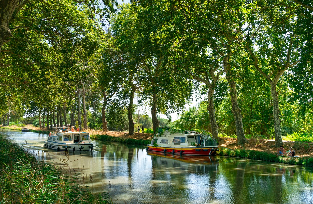 Portiragnes, Canal du Midi