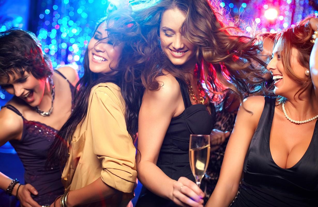 Women dancing at a nightclub - Atlanta, Georgia