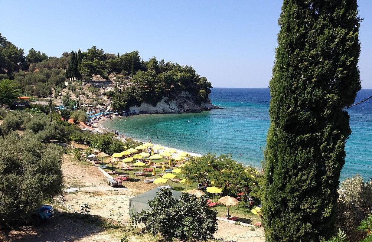 Lemonakia Strand auf Samos