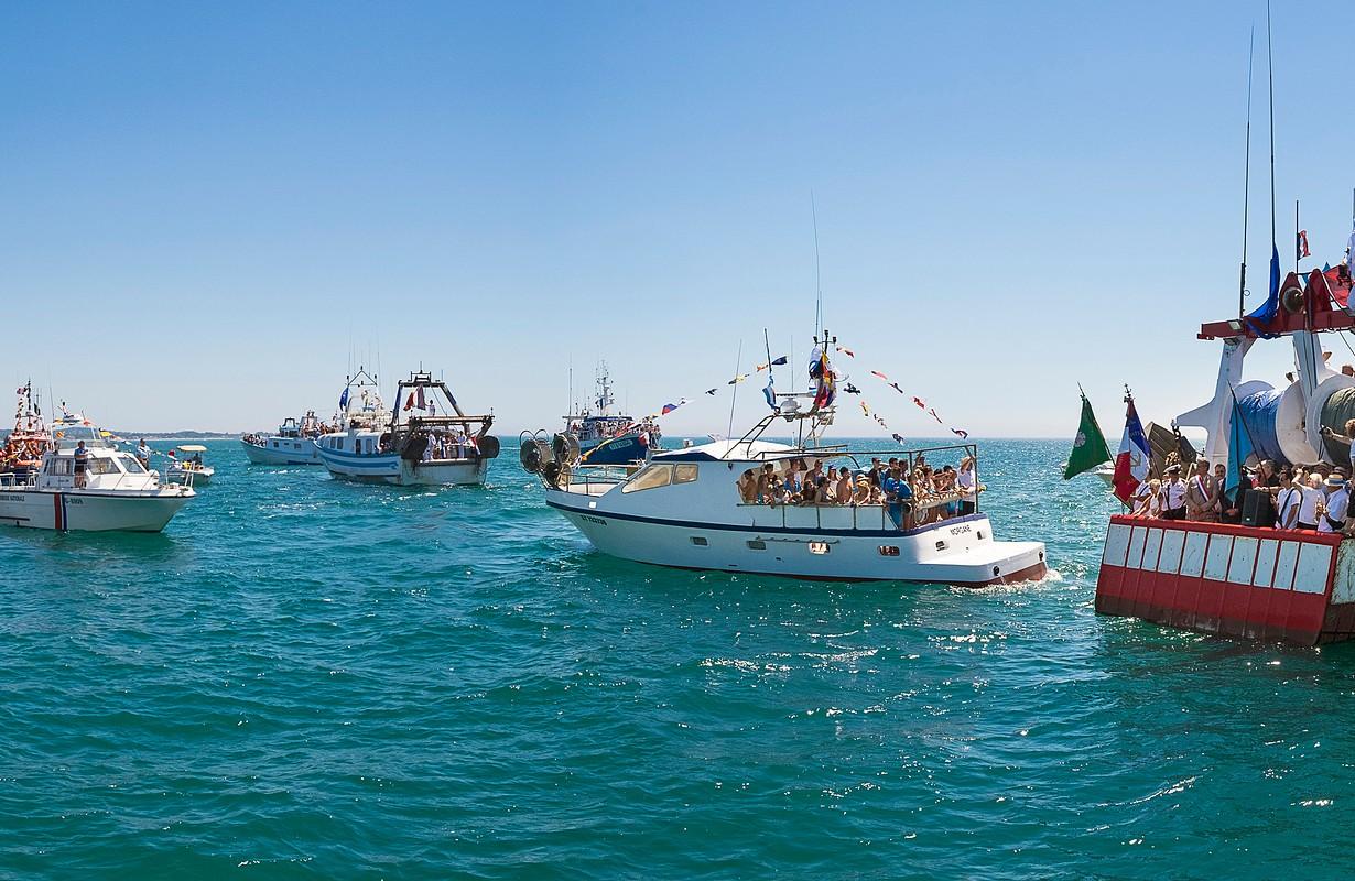 Cap d'Agde, fishers' festival
