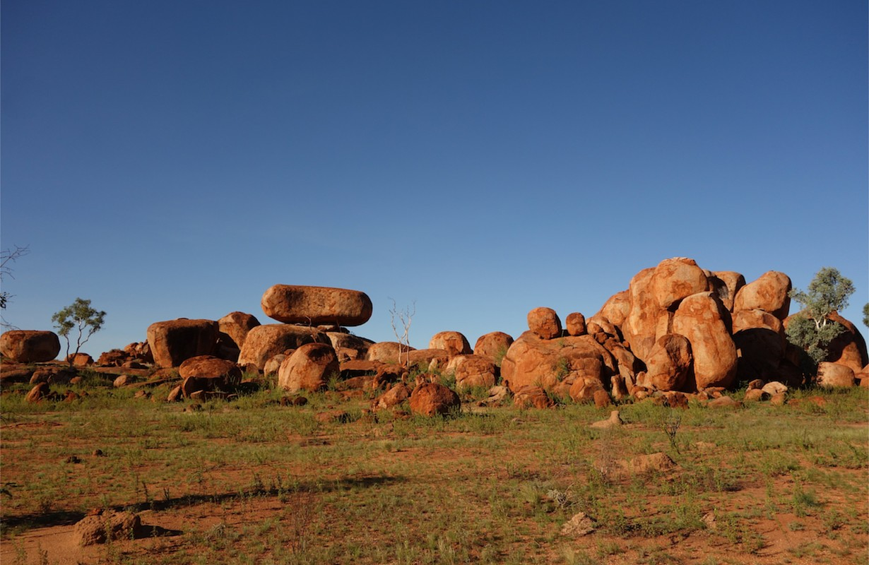 Karlu Karlu, or The Devil's Marbles, close to Alice Springs in Australia