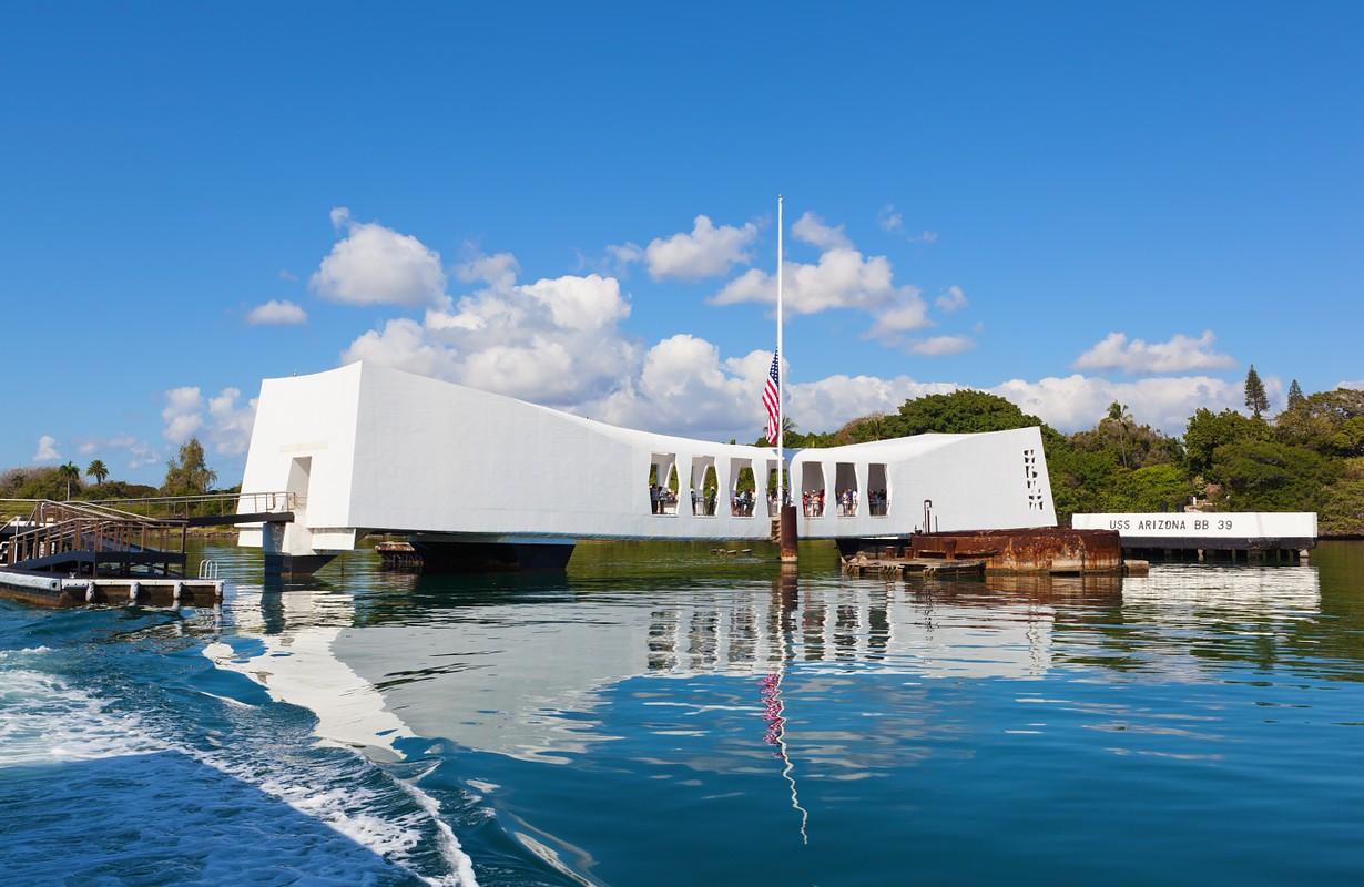 Pearl Harbor Memorial at World War II Valor in Honolulu