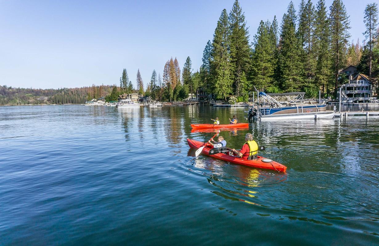 Bass Lake California Kayaking