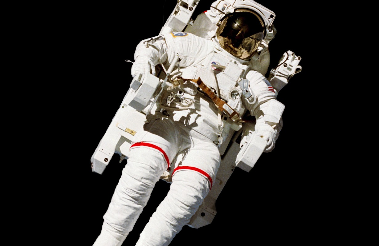 NASA Space Exploration Astronaut (Elements of this image furnished by NASA) - Houston, Texas, USA