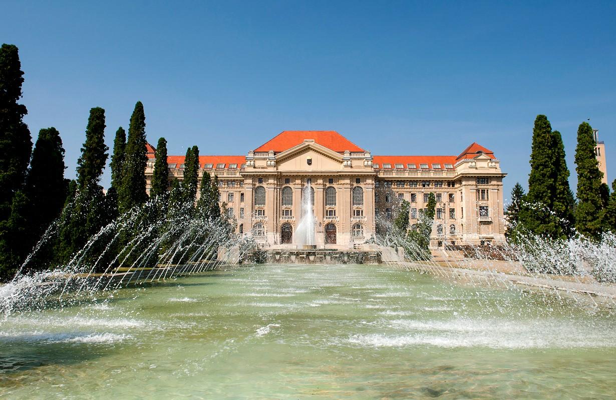 Main Building of the University of Debrecen