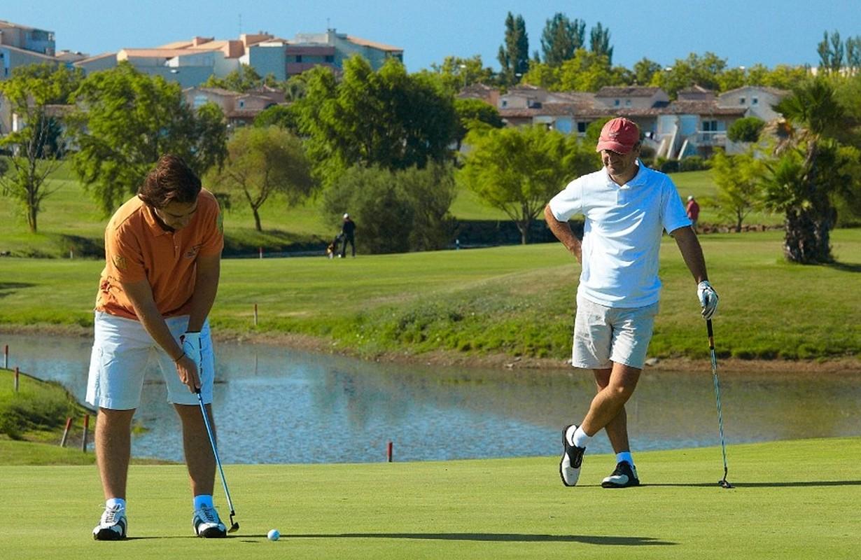 Le Cap d'Agde : golf club