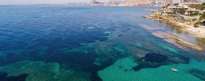 Cabo de las Huertas Coves in Alicante / Calas del Cabo de las Huertas en Alicante