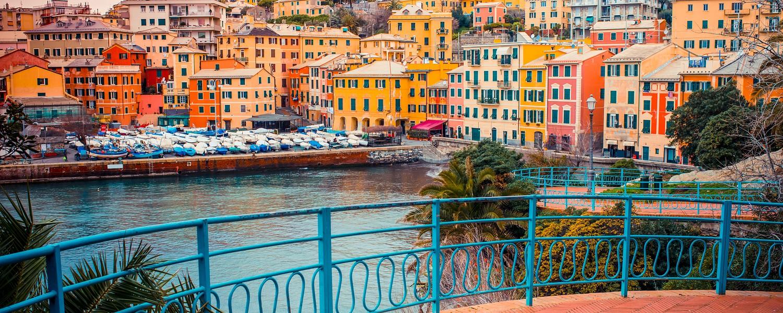 Nervi is a former fishing village now a seaside resort of Genoa in Liguria region of Italy