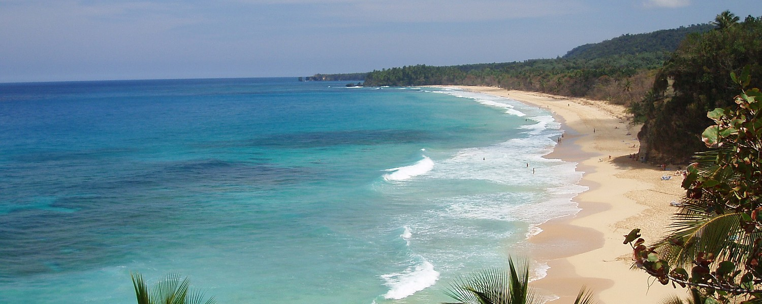 picture of the beach in Puerto Plata, Dominican