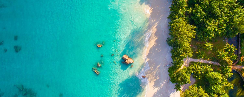 Seychelles aerial