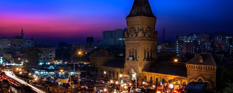 Karachi Night view