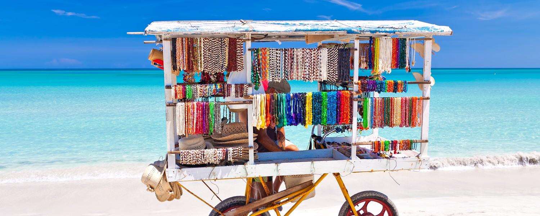 Varadero vendors cart