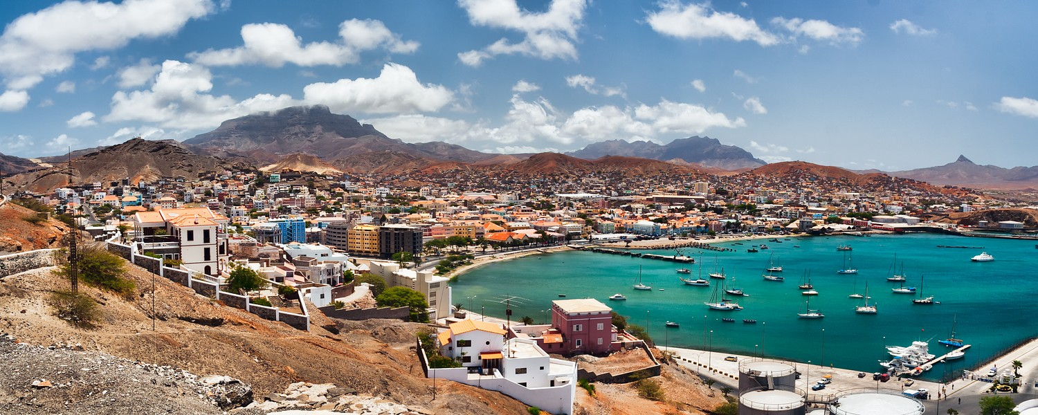 Mindelo is a port town on the Cape Verde in the northern part of the island Sao Vicente