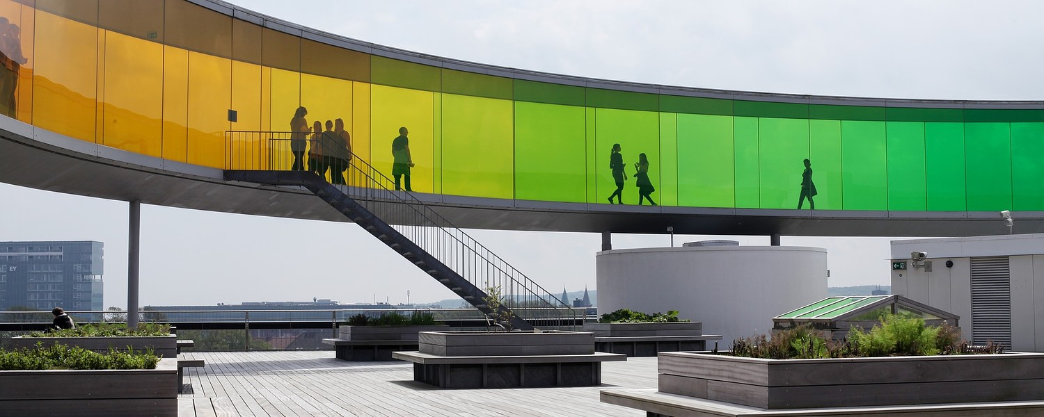 aarhus, aros, capital of culture 2017, museum of fine arts, rainbow,