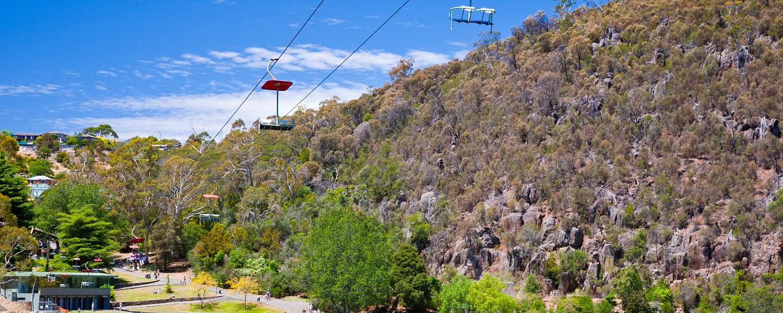First Basin, Cataract George, Launceston, Tasmania, Australia