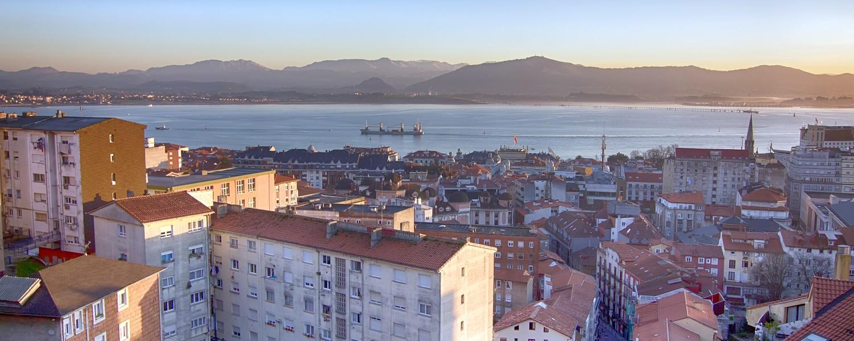 Santander view
