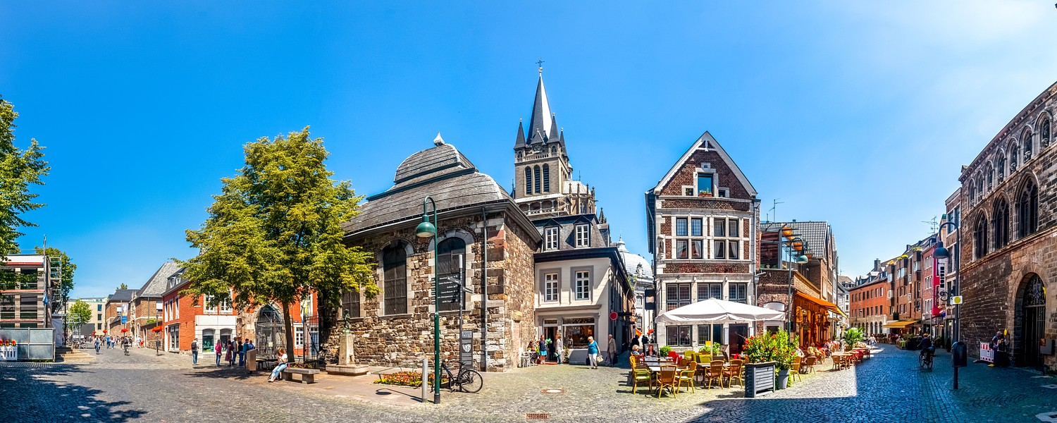 Aachen, Cathedral, Germany.