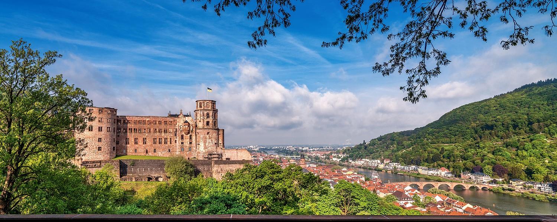 Schloss und Altstadt