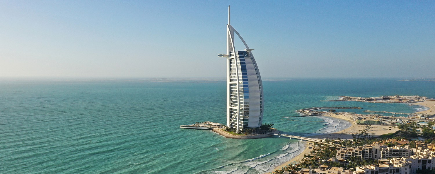 Stunning View of Dubai beaches