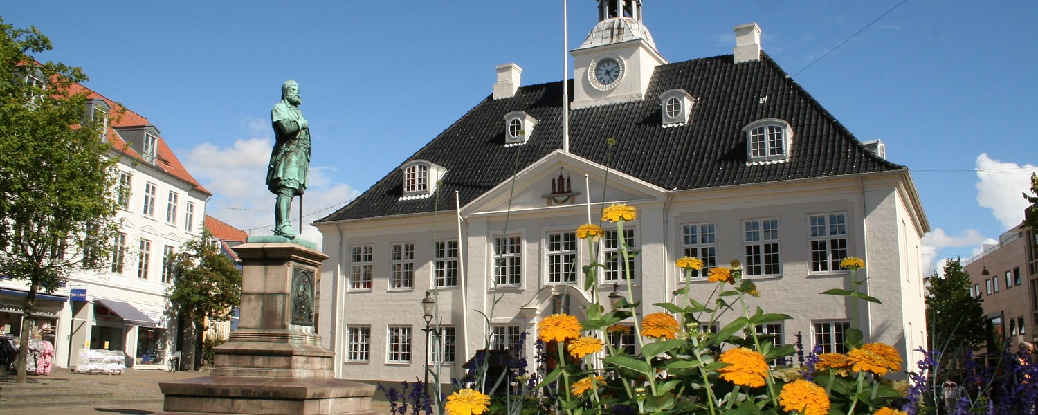 Town Hall of Randers in Denmark