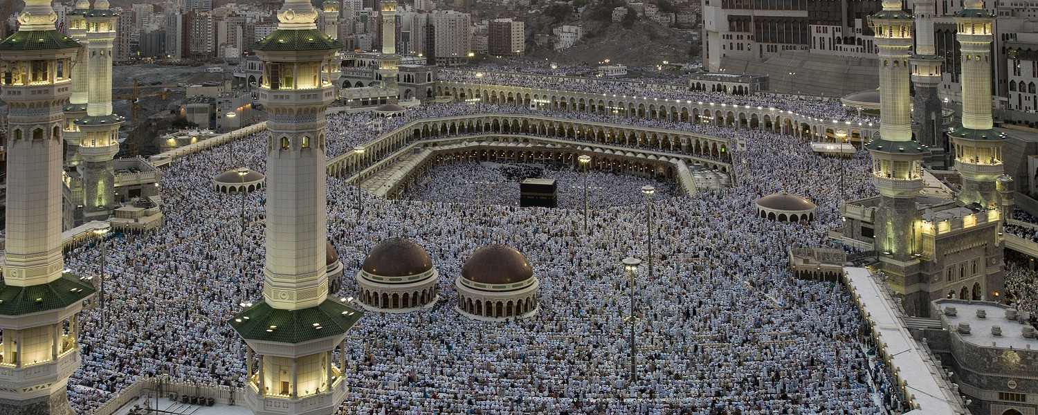 Morning prayer in Mecca