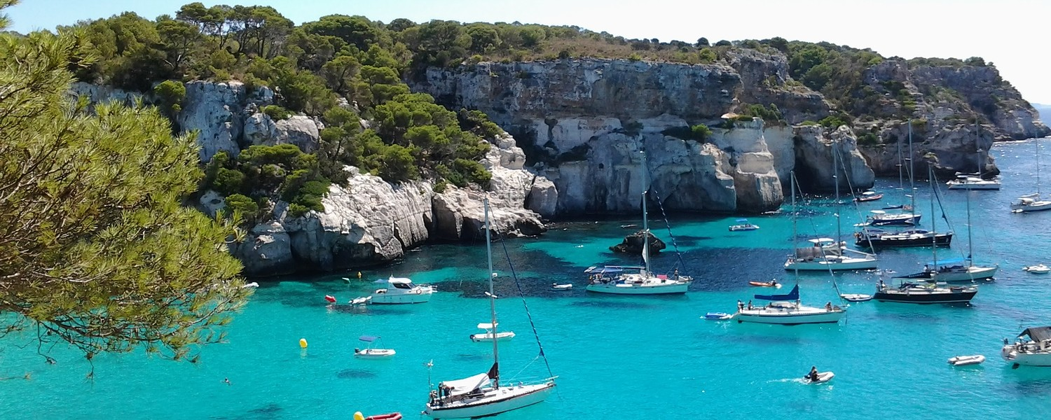 Blue Ocean around Menorca, Spain