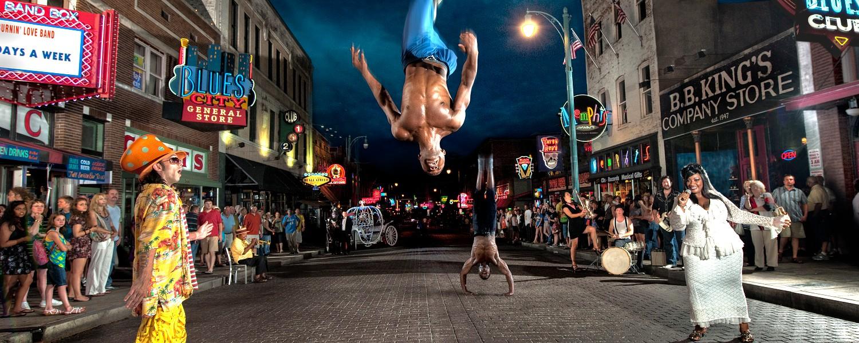 Beale Street performers