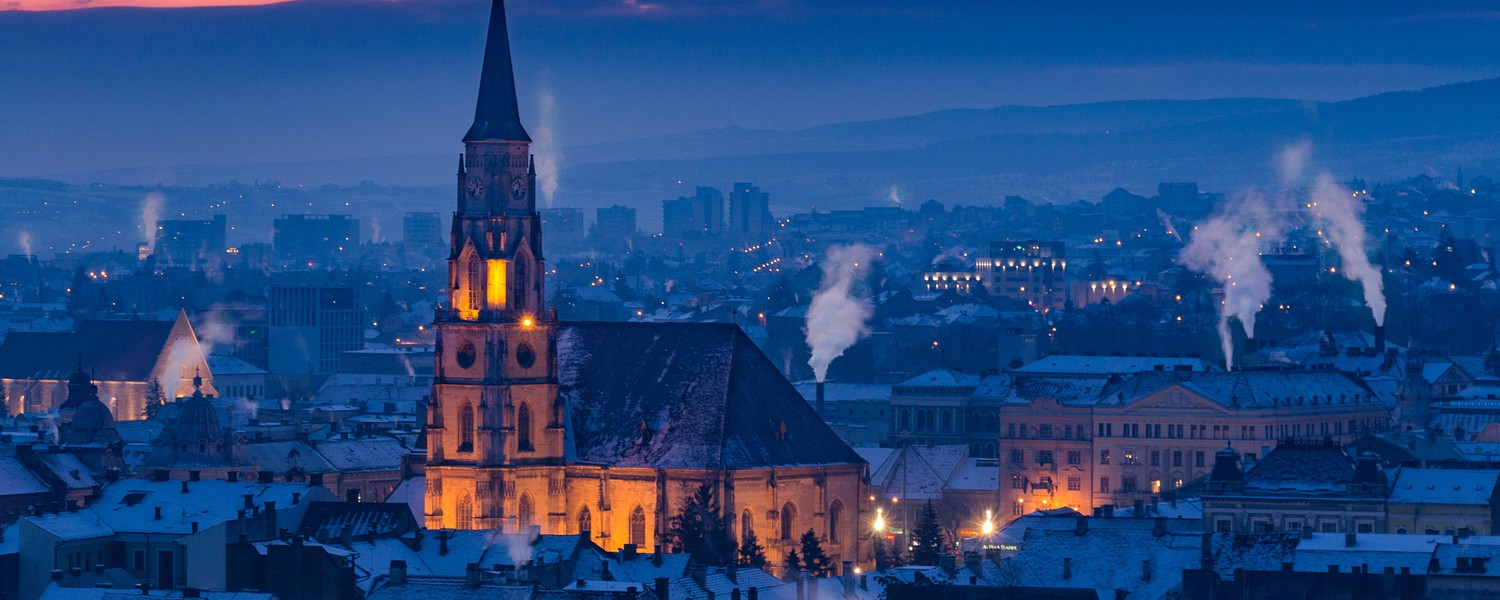 View of Cluj