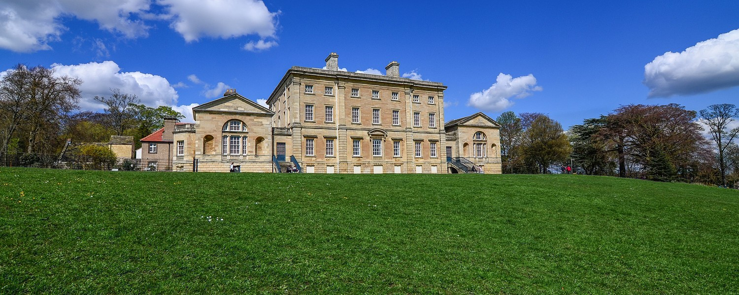 Photo of Cusworth Hall in Doncaster, UK.