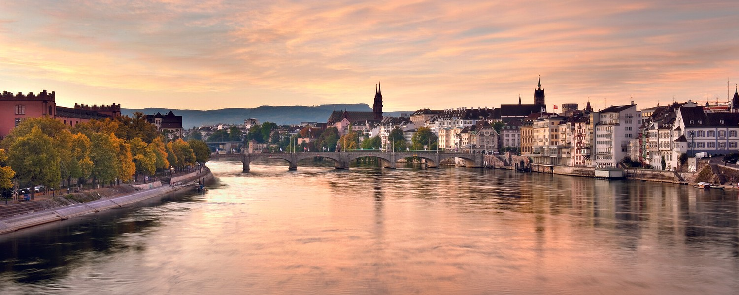 Panorama Basel Herbst