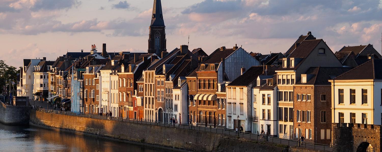 Maastricht at dusk
