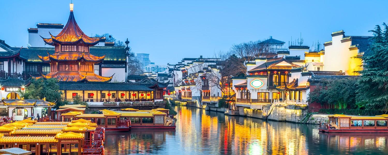 Qinghuai river