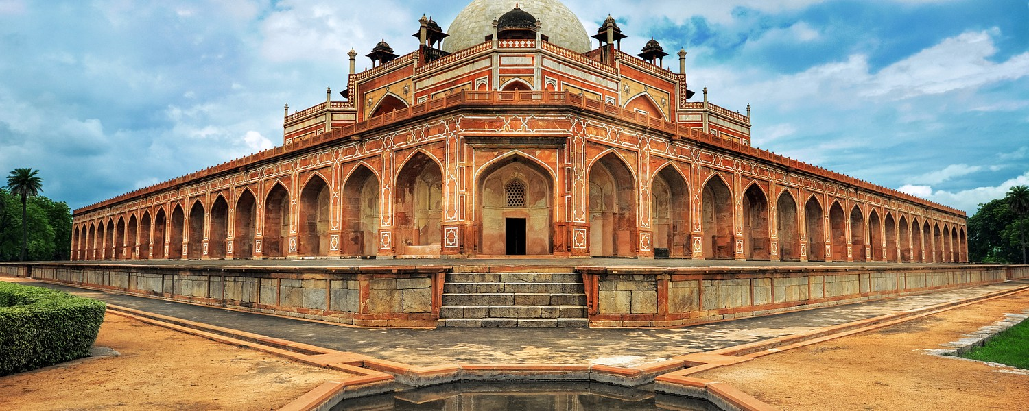 Humayun Great Mogul mausoleum, New Delhi, India