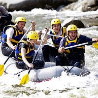 Rafting Nouveau Monde (New World Rafting)