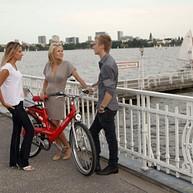 Cykelture i Hamborg