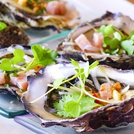 Five Oysters