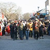 Påskmarsch i Visby