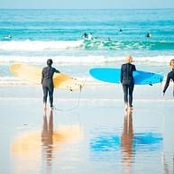 Surfing in Ballina