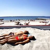 Fria Bad 海滩