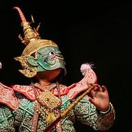 Sala Chalermkrung Theater: Khon Maskentanz