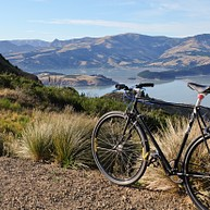 Hiking and Cycling the Port Hills