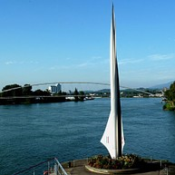 The border triangle and the Rhine port