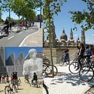 Zaragoza by bike