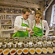Tea and Coffee tasting in Speicherstadt