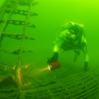 Wreck diving in Karlskrona archipelago!