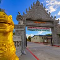 Templo budista camboyano de Stockton (Wat Dhammararam)