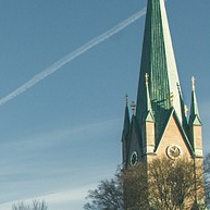 Linköpings domkyrka (kathedraal van Linköping)